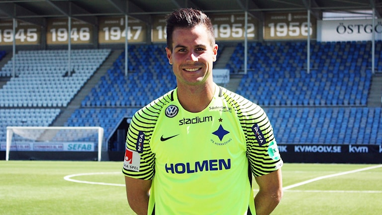 IFK Norrköpings målvakt Michael Langer.