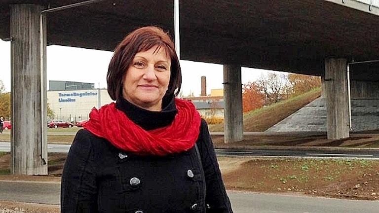 Camilla Egberth (S), kommunstyrelsens ordförande i Motala.