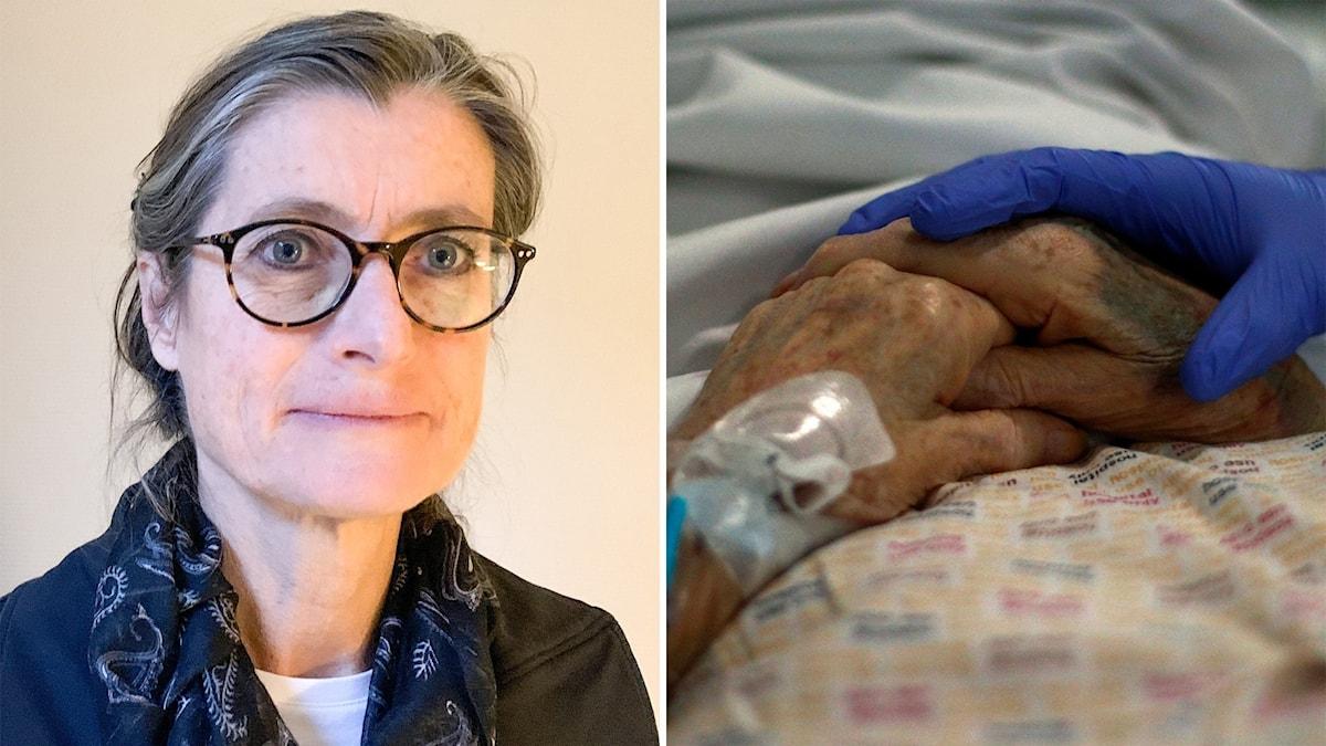 Britt Åkerlind, sjukhus