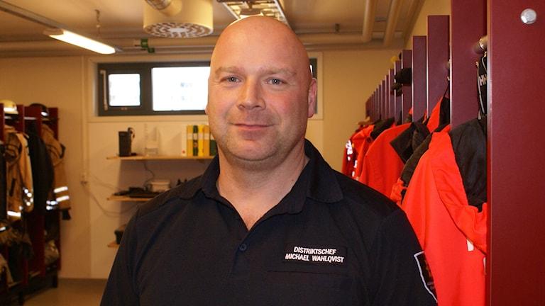 Mikael Wahlqvist distriktschef i Räddningstjänsten Östra Götaland