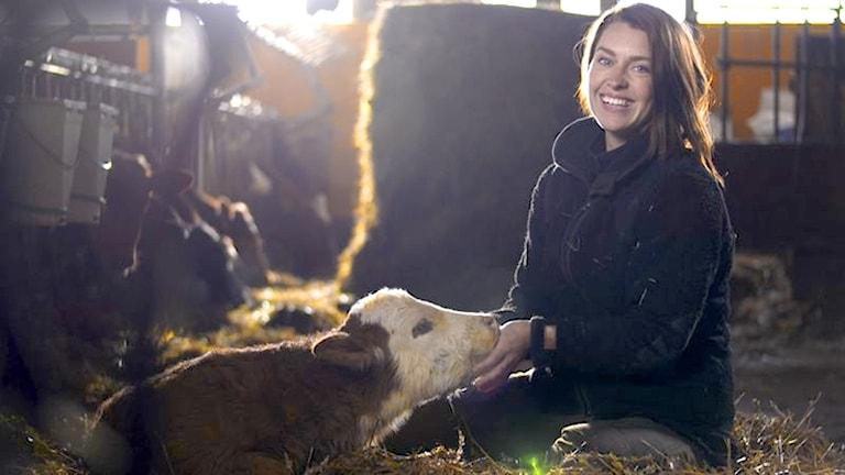 Susanna Karlsson från Vademarsvik är med i bonde söker fru.