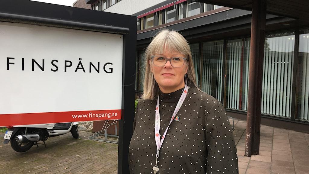 Kommunstyrelseordförande Ulrika Jeansson (S) i Finspång.