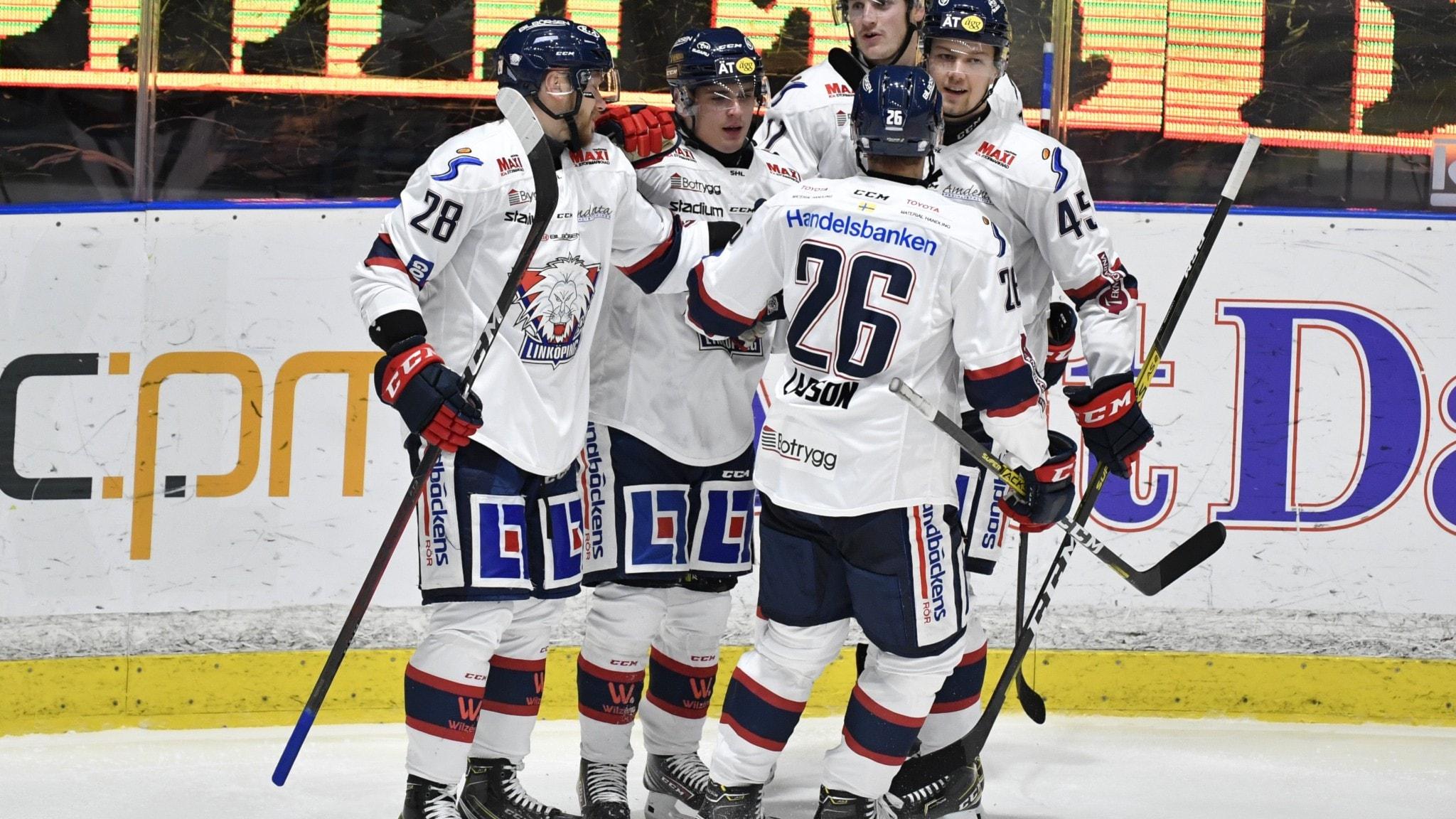 Linköpings första seger på bortais