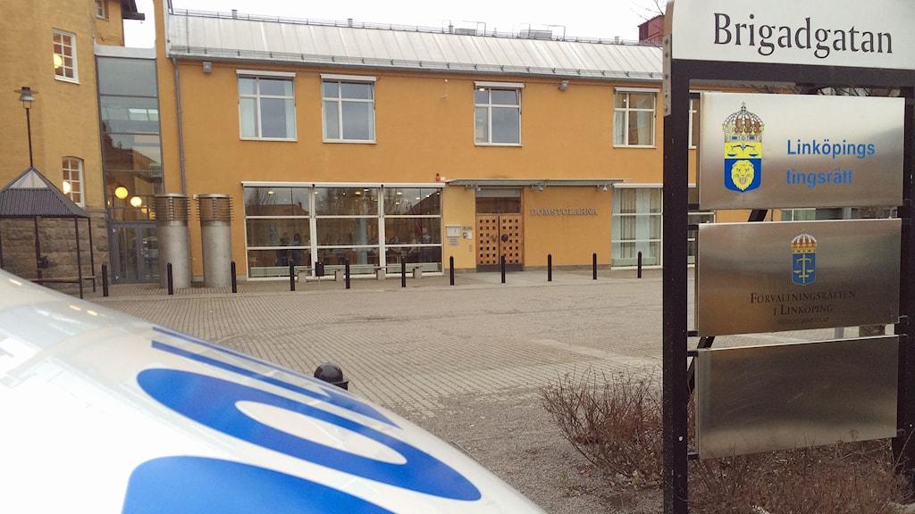 Linköpings tingsrätt. Foto: Christian Ströberg/Sveriges Radio
