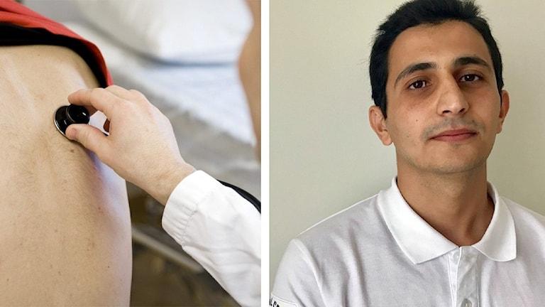 Läkaren Alhasan Alomari