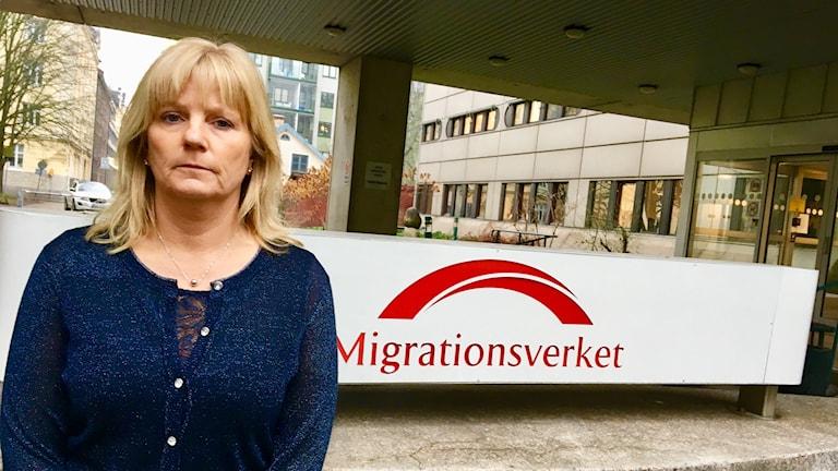 Sanna Norblad fackförbundet ST på Migrationsverket