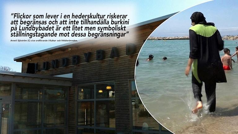 Det kommer inte längre vara möjligt att hyra burkini vid Lundbybadet i Mjölby.