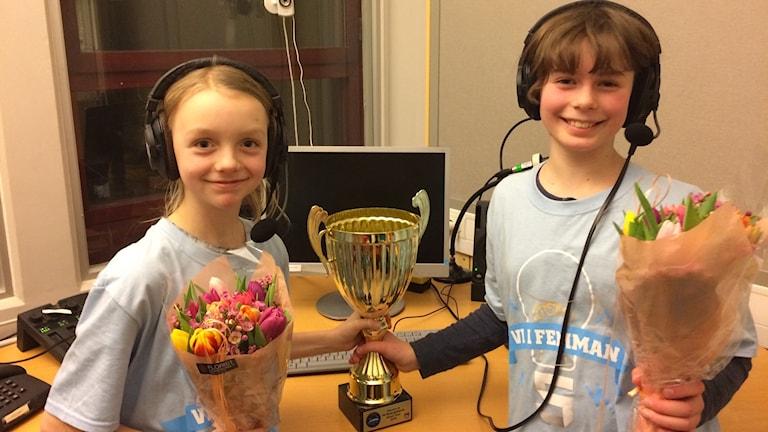 Lowe Wängsjö och Elinne Lotz, Söderköpings Waldorfskola 5 A