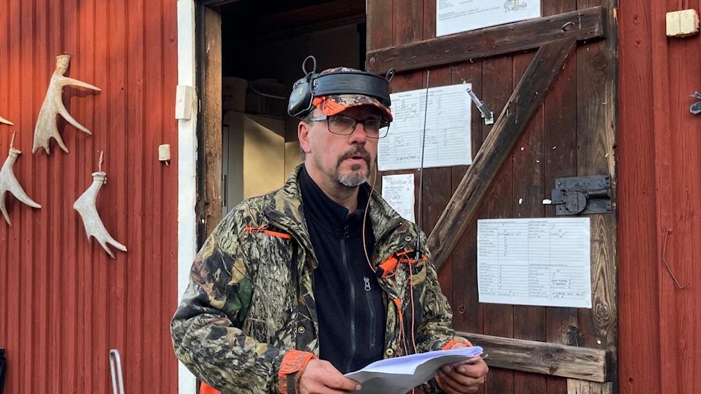 Jonni Lilja jaktledaren