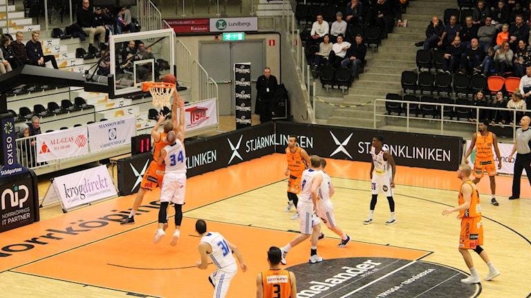 Basket Norrköping mot Jämtland
