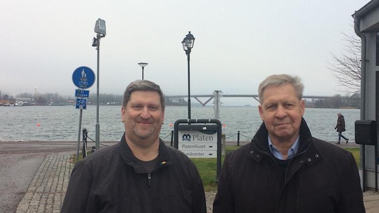 Ulf Henrik Östlund, Bostadsstiftelsen Platen och Rolf Larsson, Hamnrådet Motala.