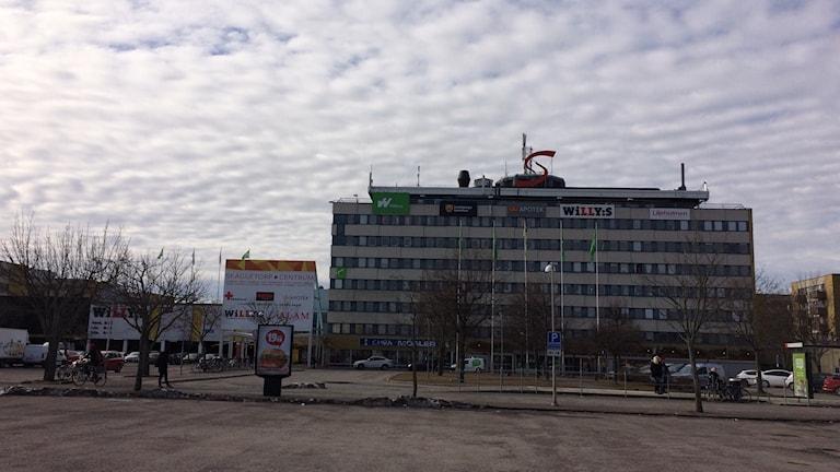 Skäggetorps centrum, Linköping.