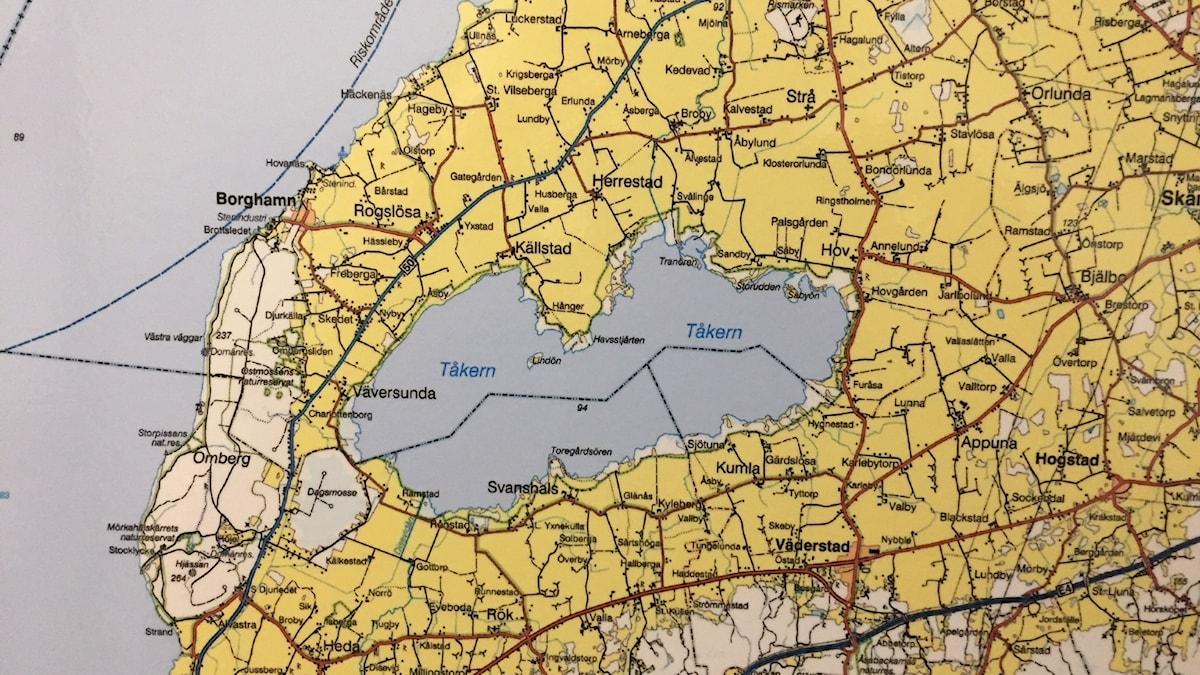 Jordskalvet kändes av i delar av Östergötland.