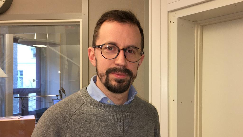 Christian Gustavsson (M) avgående kommunalråd i Linköping.