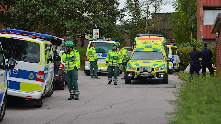Stor polisinsats i Ektorp, Norrköping.