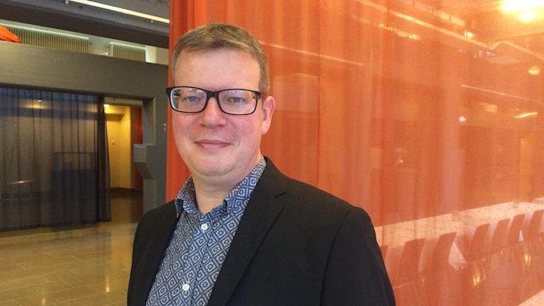 Fredrik Sunnergren, samhällsanalytiker Region Östergötland