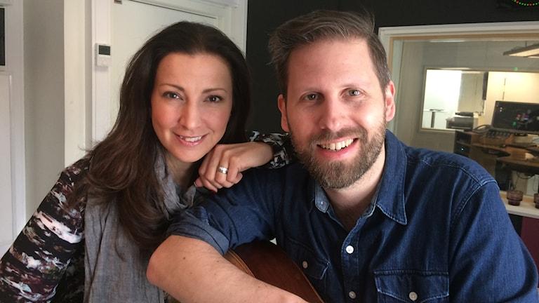 Sonja Aldén och Anders Pettersson.