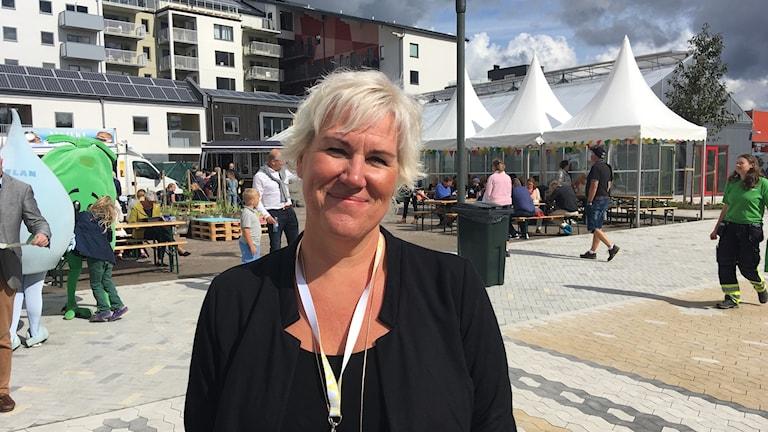 Kristina Edlund, kommunalråd och kommunstyrelsens ordförande i Linköping