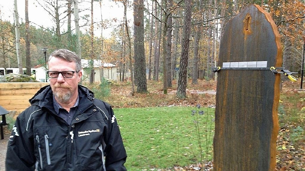 Gunnar Forsberg, griftegårds- och fastighetschef i Linköpings domkyrkopastorat.