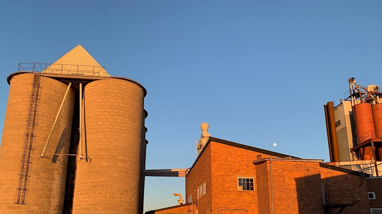 fabrik,silo,Vadstena,verkstad