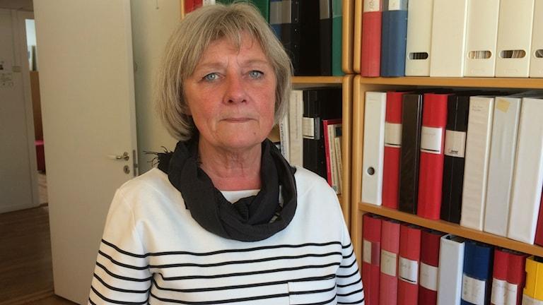 Pia Molander förbundsombudsman på Vårdförbundet i Östergötland.