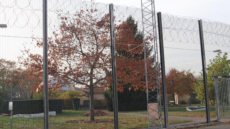 Skänninge anstalt fängelse stängsel