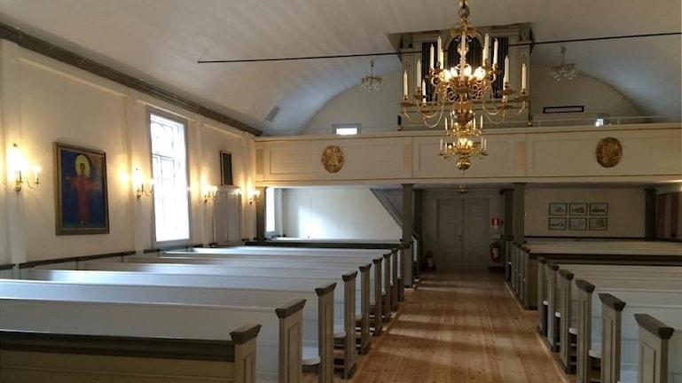 Simonstorps kyrka.