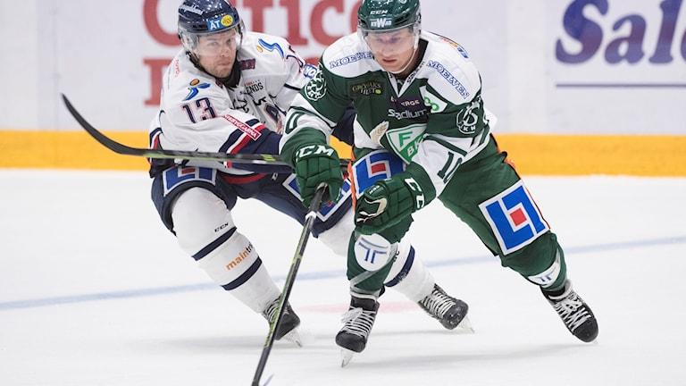 Färjestad möter Linköping 2017-09-16.
