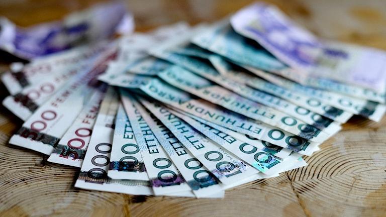 Sedlar pengar TT
