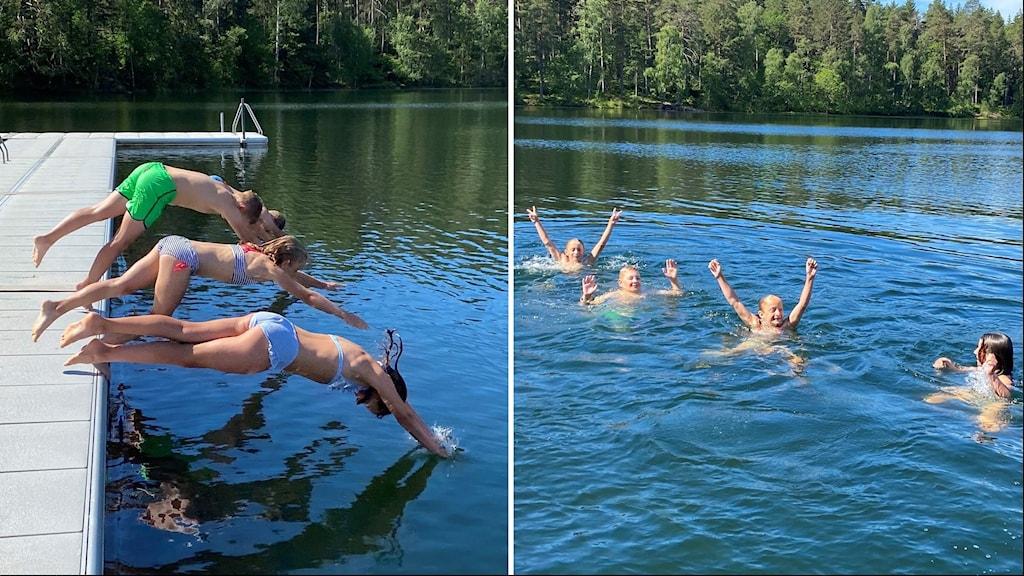 Klarsjön i Söderköping får bra betyg i vårt badtest.