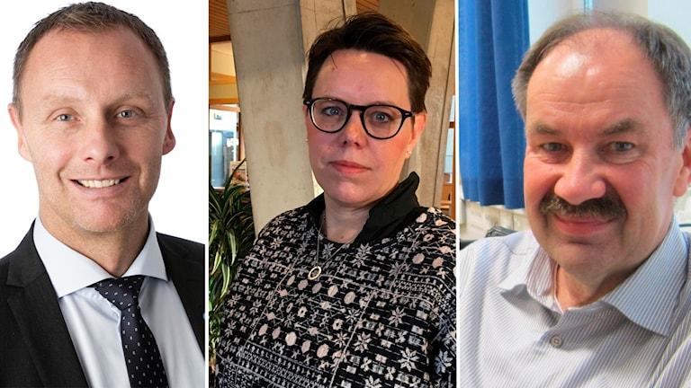 Montage. Krister Björkegren, Marie Morell, Mats Johansson
