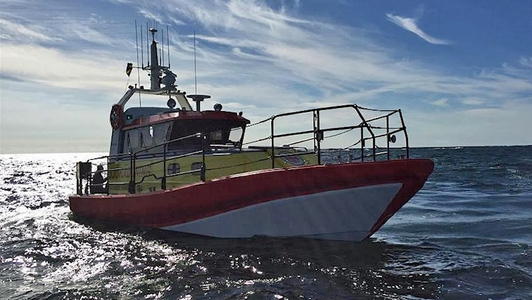 "Räddningsbåten ""Ingegerd Ramstedt""."