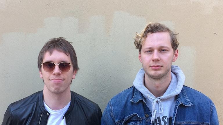 Philip Gätje och Alexander Palmqvist två av medlemmarna från People