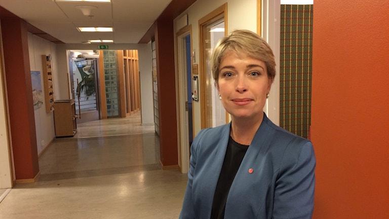 Annika Strandhäll, socialminister (S)