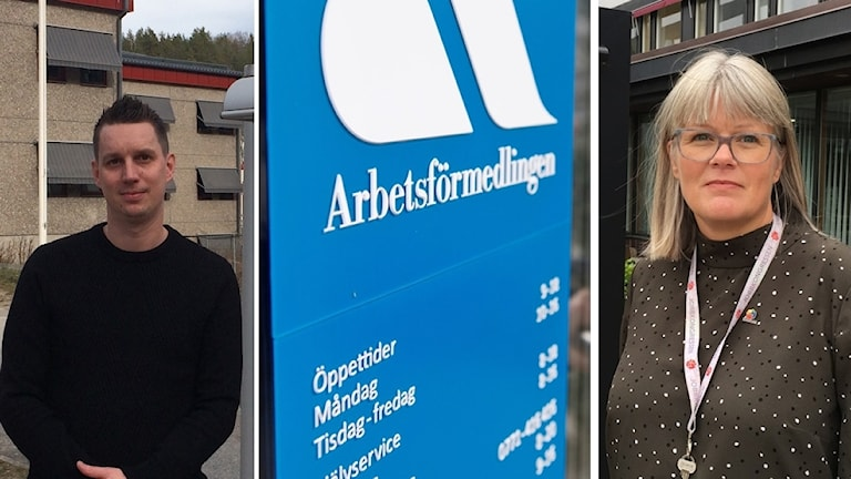 Ted Starkås (S) och Ulrika Jeansson (S).