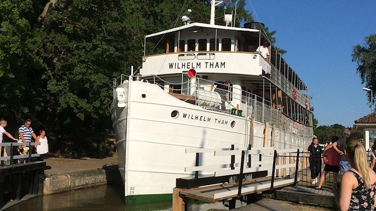 Kanalbåten Wilhelm Tham