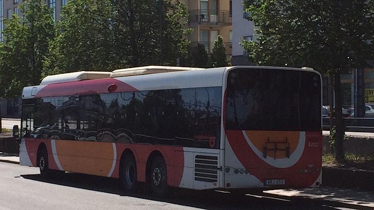 Östgötatrafiken, buss, fjärbusscentralen Linköping