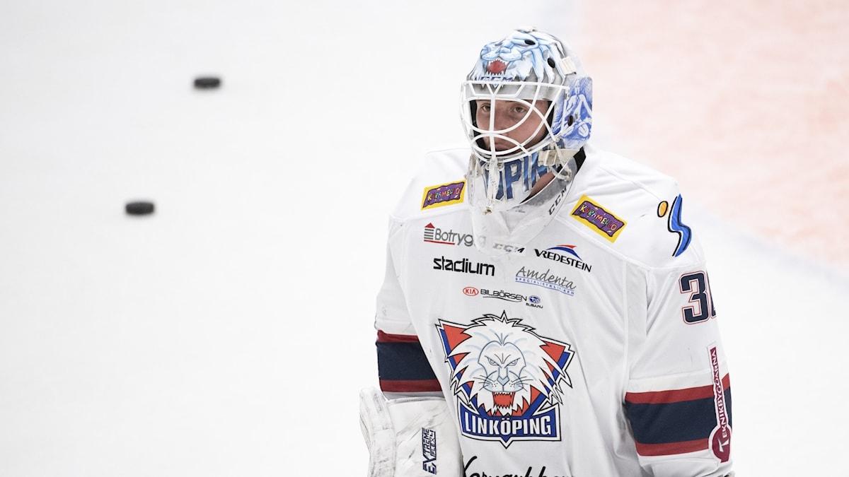 Linköpings målvakt Jacob Johansson.