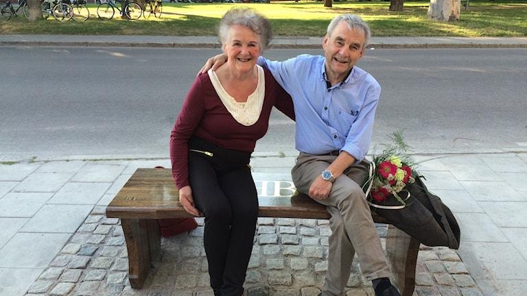 Fröydis Sandberg och Tonny Roth