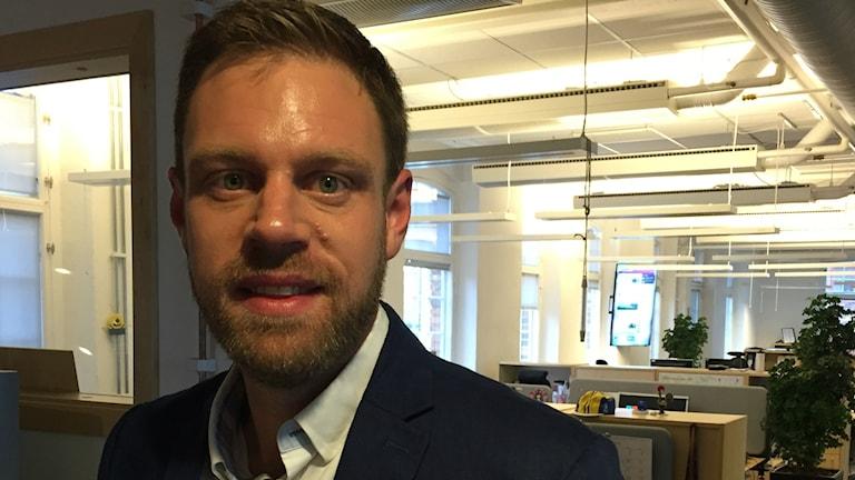 Christoffer Bernsköld, ordförande i hälso- och sjukvårdsnämnden, Region Östergötland.