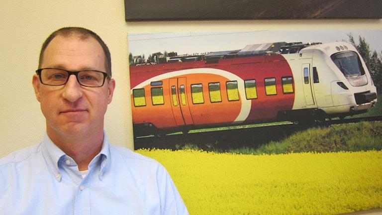 Mattias Näsström, trafikoperativ chef på Östgötatrafiken.