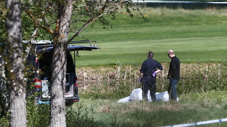 22-åringen hittades död på Linköpings golfbana.
