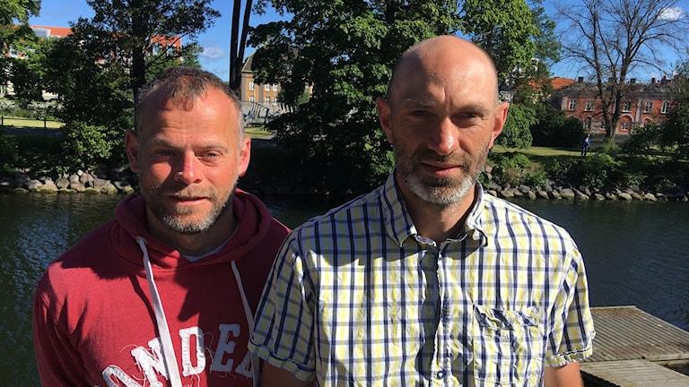 Hans Andersson och Christian Ringman