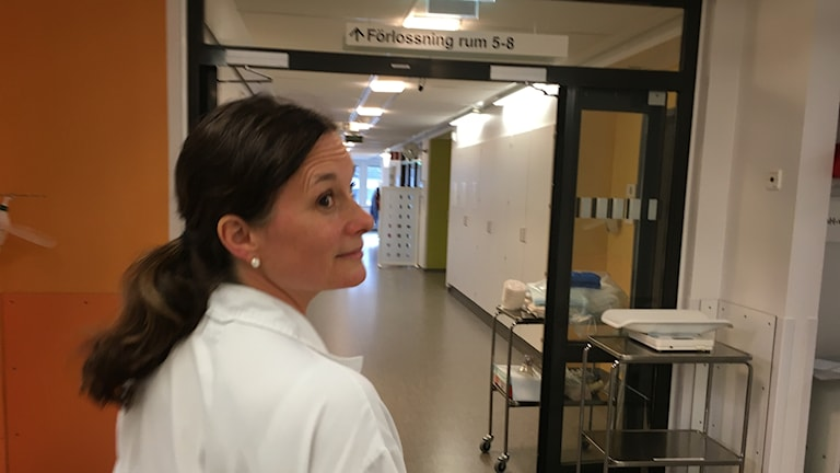 Lisa Carlhäll, läkare på förlossning och fostermedicin på Linköpings universitet.