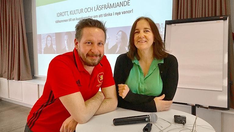 Johan Thorén och marie Tomicic.