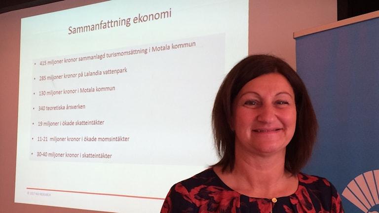 Camilla Egberth,  (S) kommunstyrelsens ordf Motala.