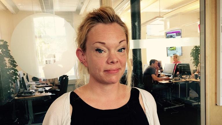 Jennie Karlsson, arbetsmiljöinspektör Arbetsmiljöverket Region Öst.