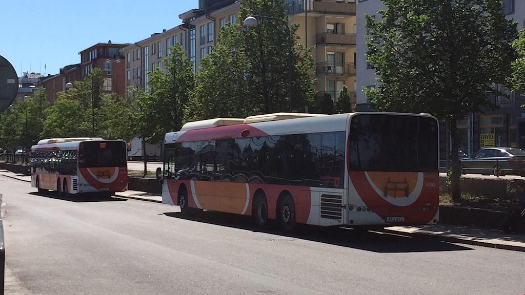 Östgötatrafiken, bussar, fjärrbusscentyralen Linköping