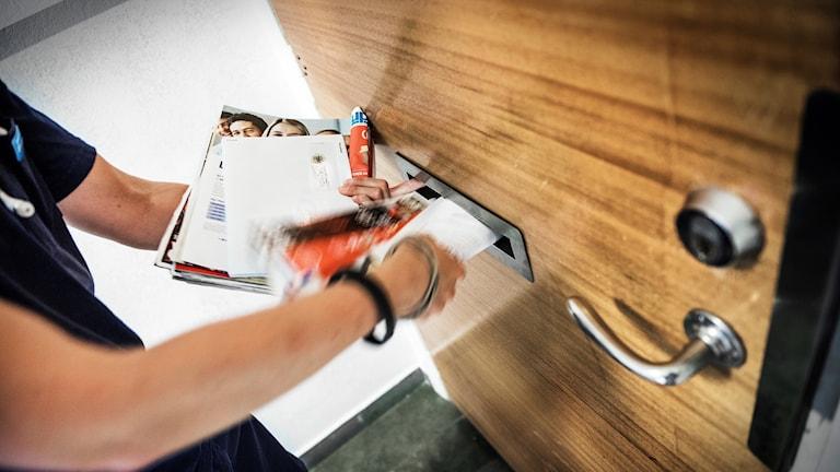 Postutdelningen försvinner. Glöm inte att märka brevlådan om de vill veta vad som gäller. Arkivbild: