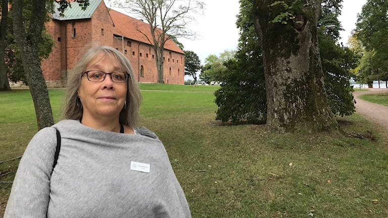 Anita Gustavsson, pedagog på guideutbildningen på Folkhögskolan i Vadstena.